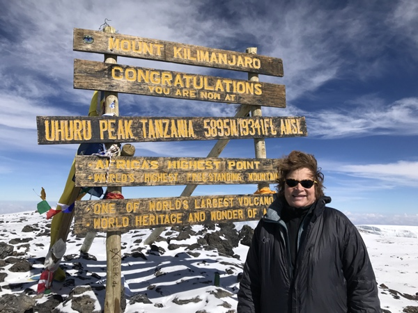 I had cytoreduction and HIPEC and now I've climbed Mount Kilimanjaro!