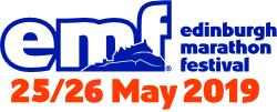 Pseudomyxoma Survivor's Edinburgh Marathon Festival 2019 logo