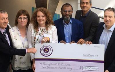 Supporting the Peritoneal Malignancy Institute in Basingstoke