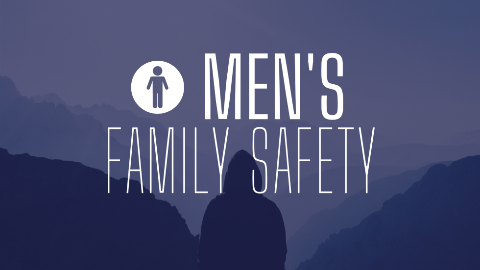 Mens Family Safety Button