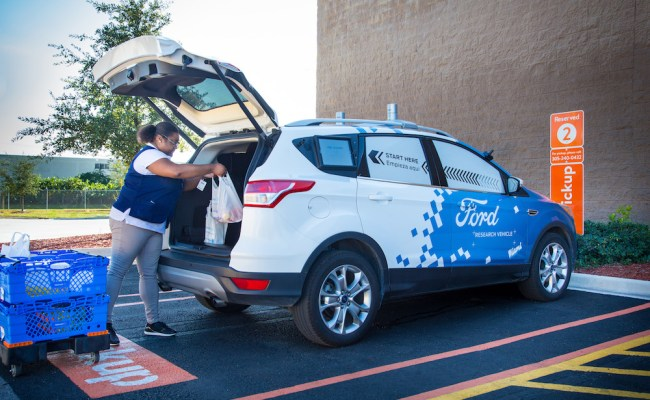 Future Walmart Shoppers Might Receive Their Groceries Via
