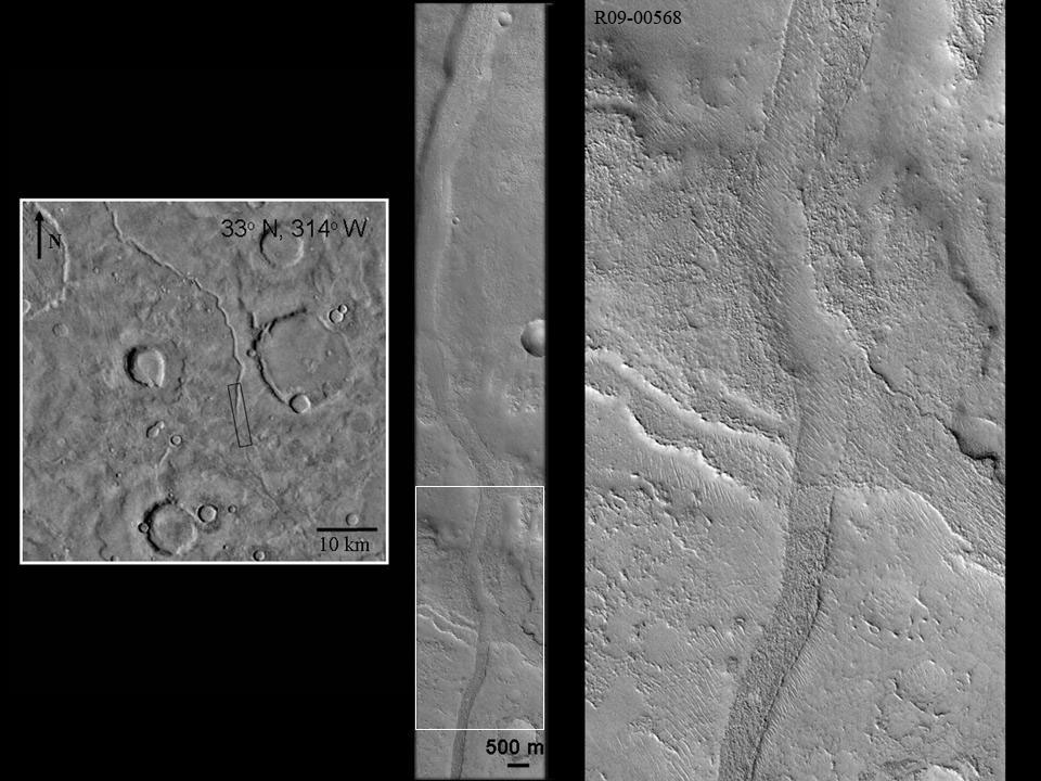 Valley Network, Arabia Terra, Mars