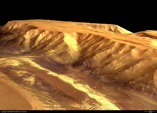 Candor Chasma, Mars