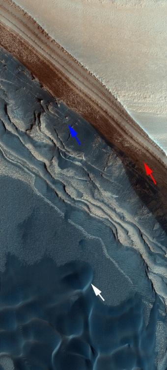 Mars Polar Deposits