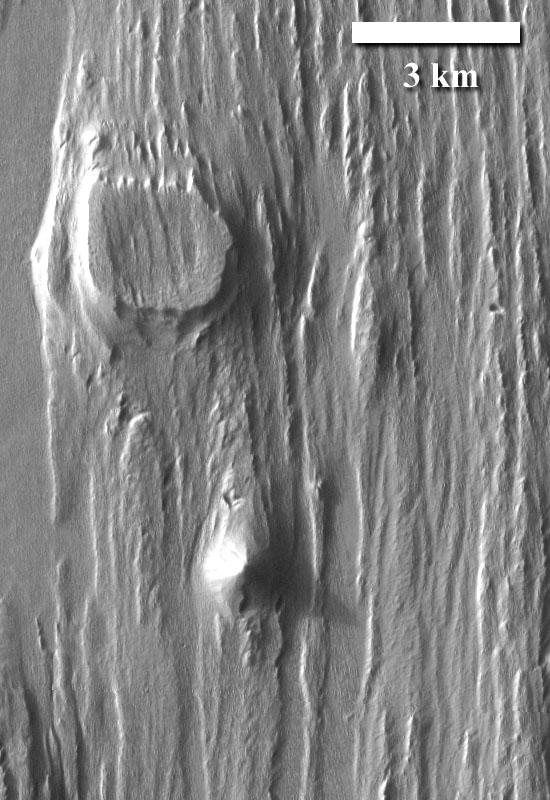 Emmenides Dorsum, Mars