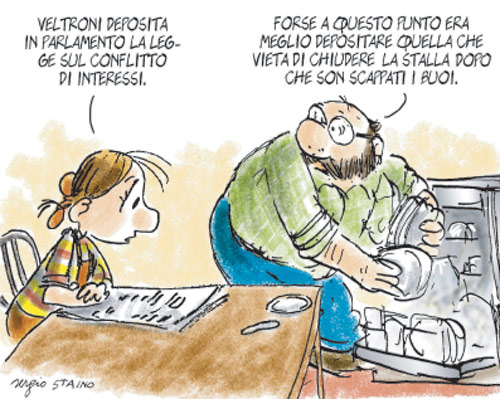 commento di Sergio Staino