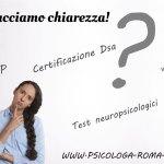Differenze tra certificazione e diagnosi Dsa