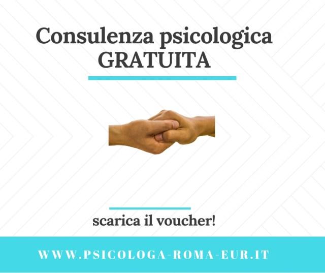 consulenza psicologica gratuita roma eur