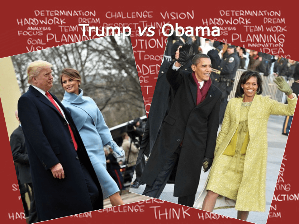 Trump vs Obama – cosa comunica il look