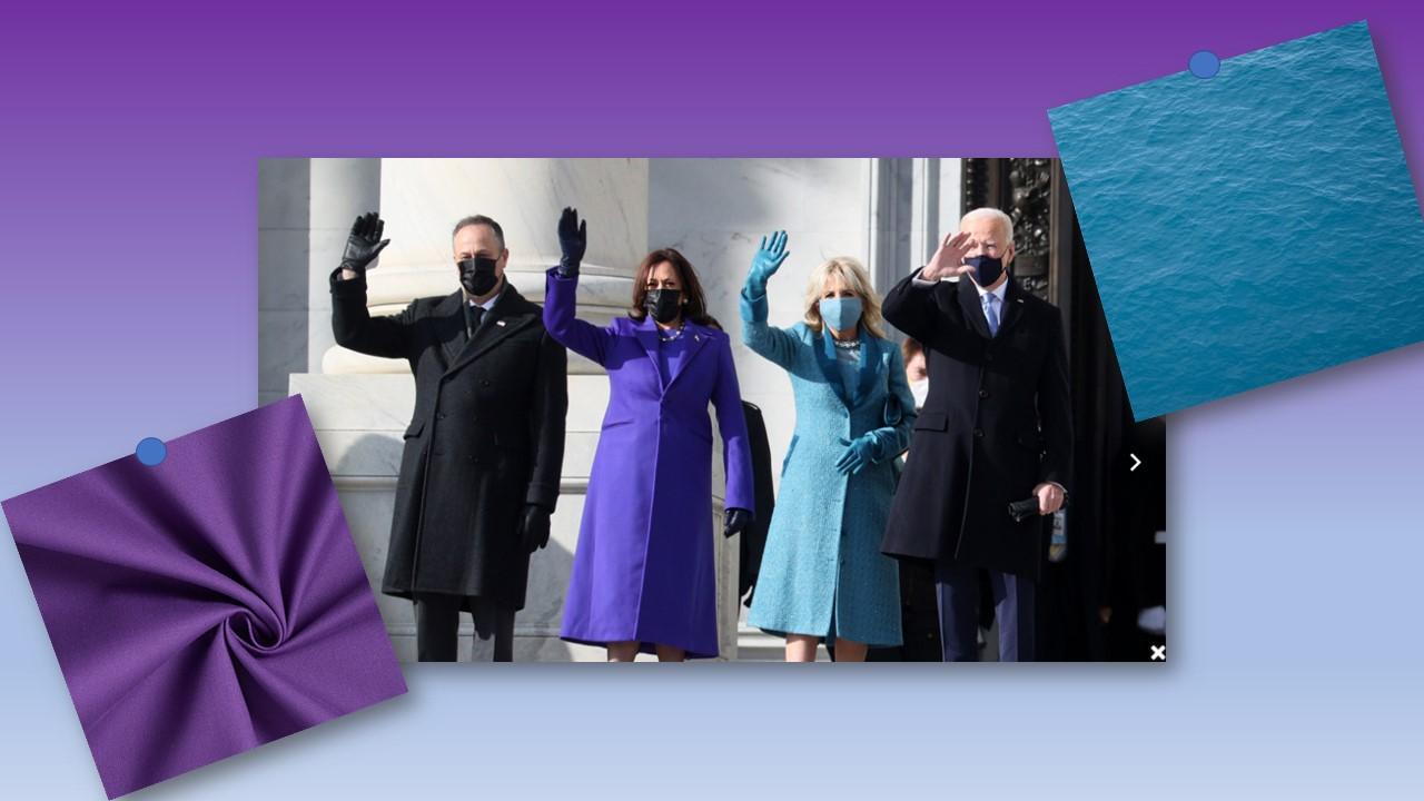 Colori al potere. I colori dell' Inauguration Day