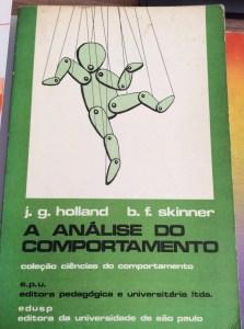 Livro Análise do Comportamento, Skinner e Holland