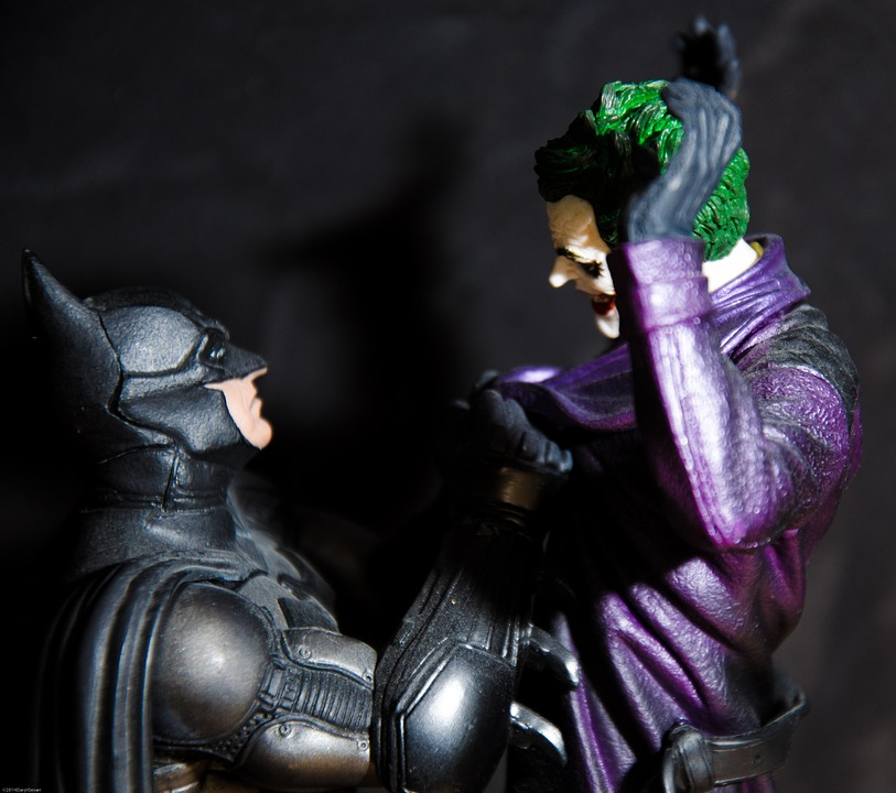joker e batman