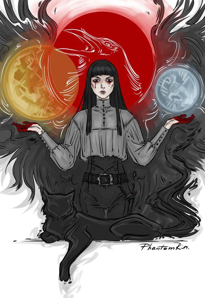 Mia fanart by Phantom Rin - Psicologorroico
