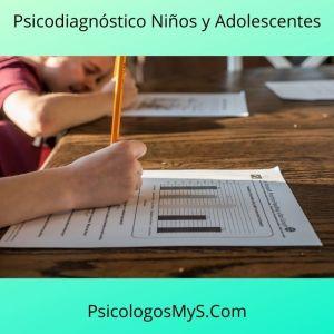 Psicodiagnóstico Niños y Adolescentes
