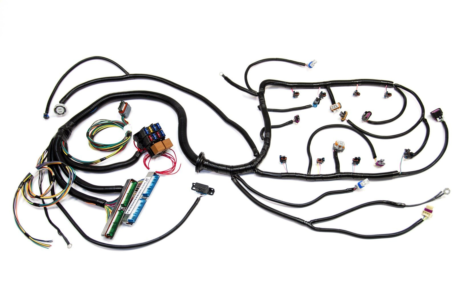 hight resolution of  07 vortec w 4l60e standalone wiring harness dbw