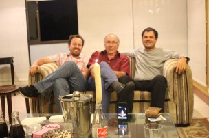Carlos Naranjo, Antonio Vélez y Juan Pablo Lopera