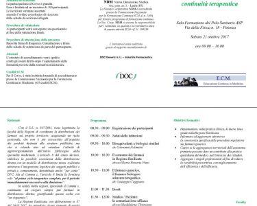 La DPC: Il caso Basilicata-Linee guida per la continuità terapeutica