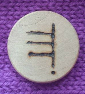 Tinne (Tin-nay), or Holly Ogham