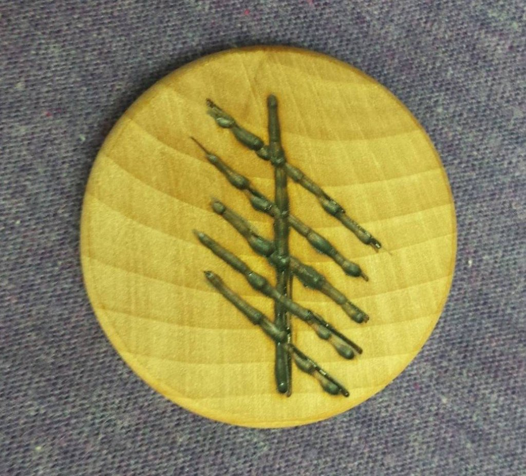 Ruis or Elder Ogham