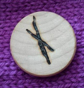 Muin (Mhoown), Blackberry/Bramble Ogham