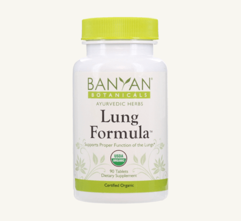 Lung Formula tablets by Banyan Botanicals