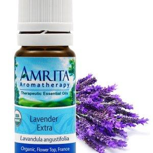 Lavender Extra (Organic) 10 ml - Amrita Aromatherapy