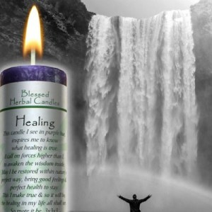Healing - Blessed Herbal Candle