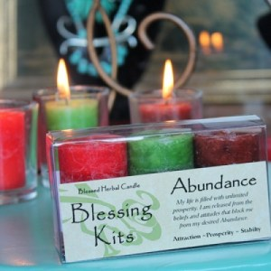 Abundance - Blessed Herbal Blessing Kit