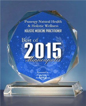 2015 Best of Minneapolis Award in the Holistic Medicine Practitioner category by the Minneapolis Award Program