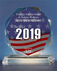 2019 Best of St. Paul Award in the Holistic Medicine Practitioner