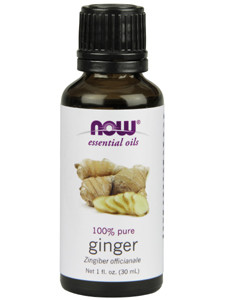 Ginger Oil (Pure) 1 oz - NOW Essential Oils