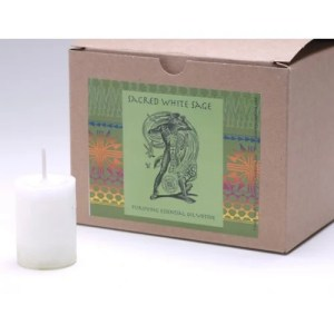 Sacred White Sage - World Magic Power Votive
