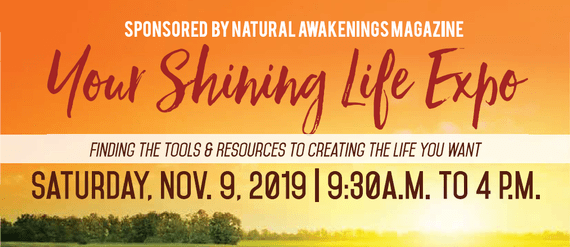 Your Shining Life expo info - November 9, 2019 from 9:30 AM to 4 PM at the DoubleTree by Hilton Roseville Minneapolis