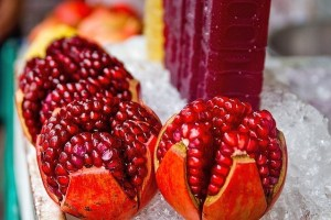 Pomegranate Juice to beat the Summer Heat