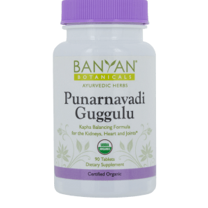 Punarnavadi Guggulu 300 mg 90 tabs - Banyan Botanicals