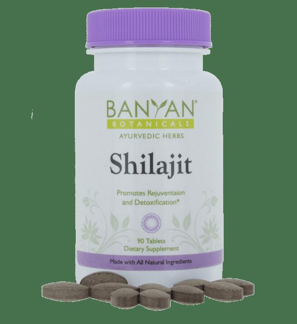 Shilajit 300mg, 90 tabs - Banyan Botanicals