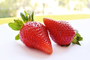 Strawberries to help with summer heat issues