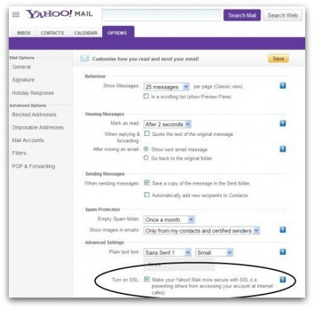 Yahoo Mail finally enables HTTPS