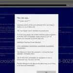 Microsoft Support Scams on the rise