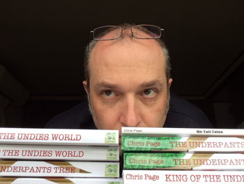 The author keeping a close eye on Amazon.