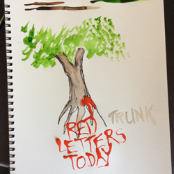 The Underpants Tree - scribbles loading