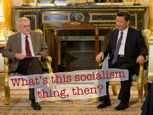 Corbyn - Xi | chris-page.com
