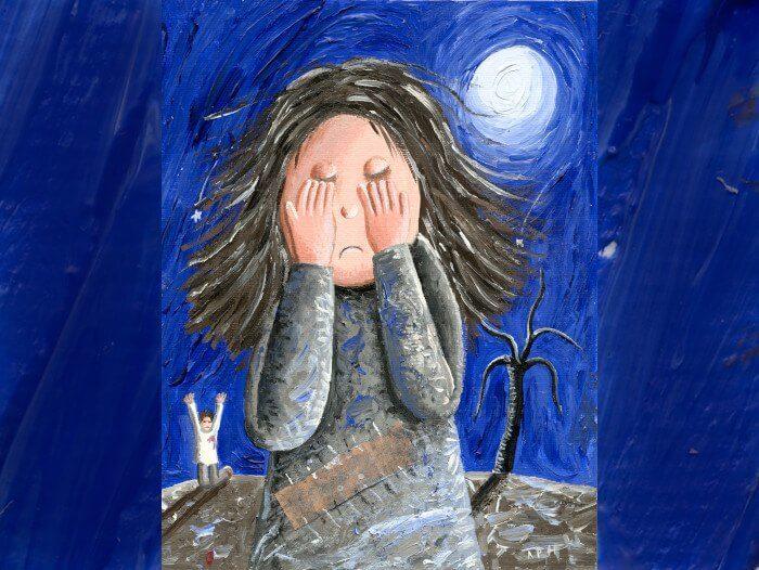 depressão em crianças ou adolescentes