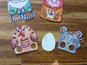 Театр, лэпбук, курочка Ряба, яйцо, на пальчик, купить, персонаж, сказка, мышь, бабка