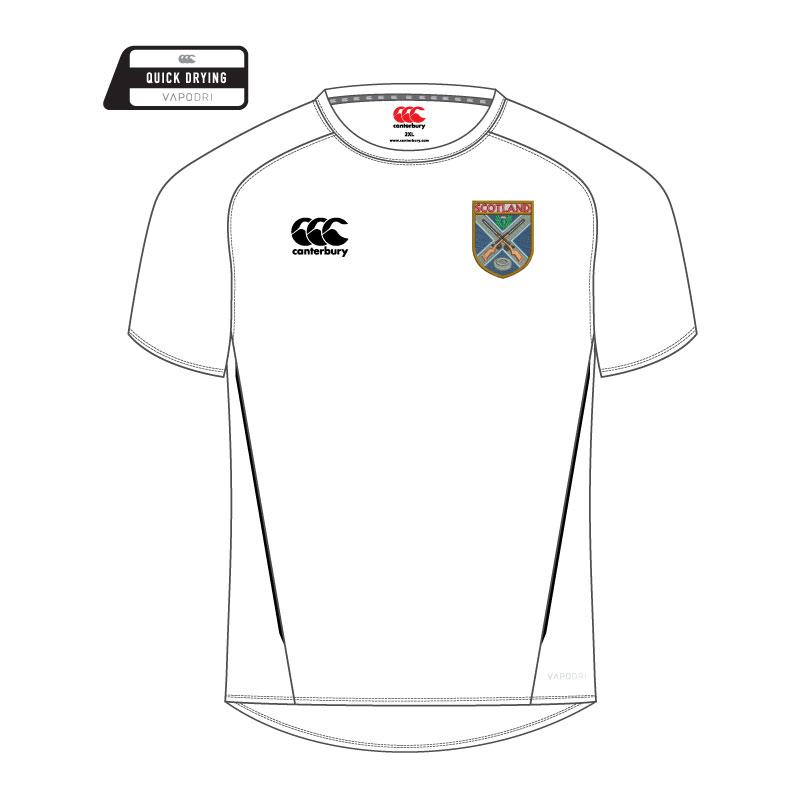 SCTA Team Dry T-Shirt White