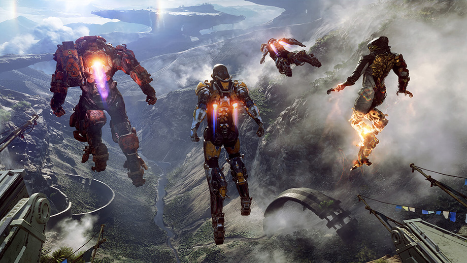 Anthem Has Primeval Beauty Exo Suits And Its From Bioware