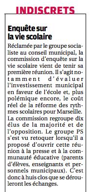 Article de La Provence - 2 ctobre 2015