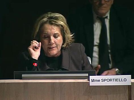 Josette Sportiello défend les commerces du centre-ville