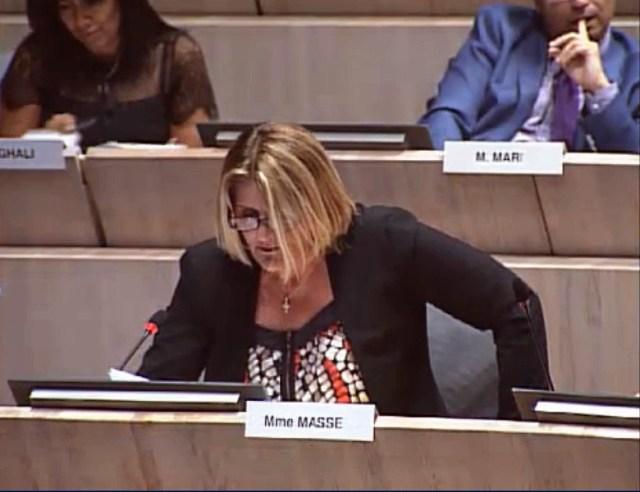 Amendement garderies, Florence Masse demande à simplifier les démarches des familles