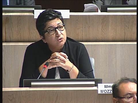 Annie Levy-Mozziconacci intervient sur la situation de la place de l'Amiral Muselier